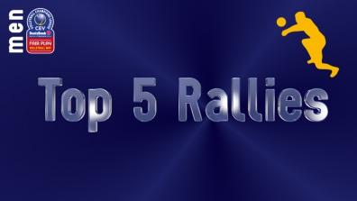 laola1 | Leg 4: Top 5 Most Amazing Rallies