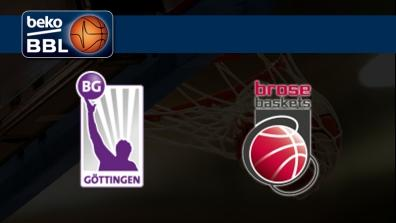 BG Gottingen - Brose Baskets Bamberg