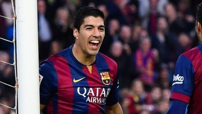 getty | Suarez with his first goal in La Liga