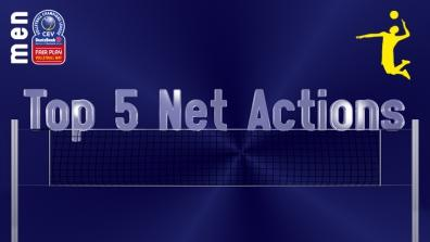 laola1 | Leg 5: Top 5 Most Spectacular Net Actions