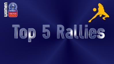 laola1 | Leg 6: Top 5 Most Amazing Rallies