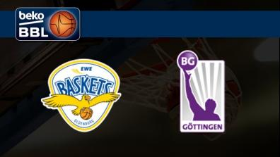 EWE Baskets Oldenburg - BG Gottingen