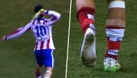Arda Turan throws boot at assistant referee