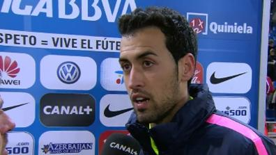 Interviews nach Atletico Madrid - FC Barcelona