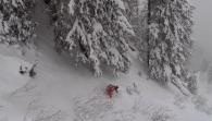 A Pillow-Popping Powder Day In Chamonix With Pierre Hourticq And Friends