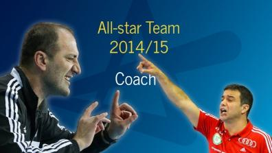 Women's All-star Team 2014/15: Best coach