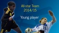 Women's All-star Team 2014/15: Young player