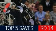 Top 5 Saves: Last 8 Leg 2