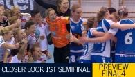 A closer look at the 1st Semi-Final: Larvik - Dinamo Sinara