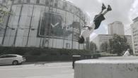 Insane Parkour On London's South Bank