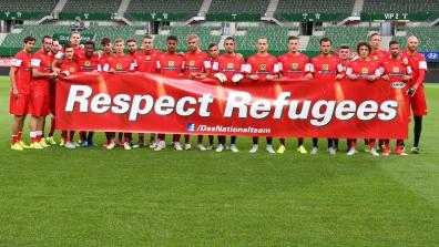 getty | ÖFB players support refugees