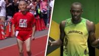 105 years old men run's World Record
