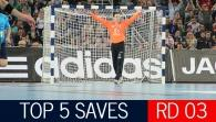Top 5 Saves: Round 3