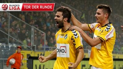 laola1 | Elsnegs top goal of Round 15 in the Bundesliga