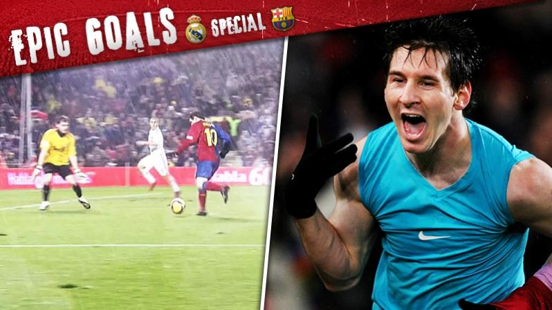 getty | Epic Goals: Lionel Messi vs. Real Madrid
