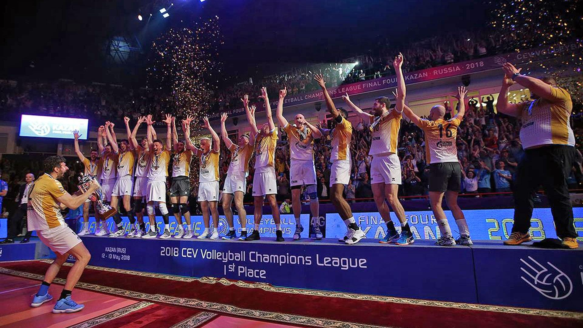 volleyball champions league live